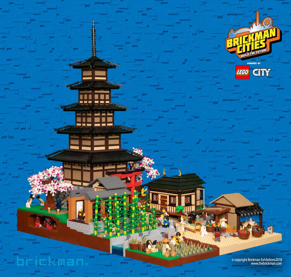 LEGO Tokyo Edo Period