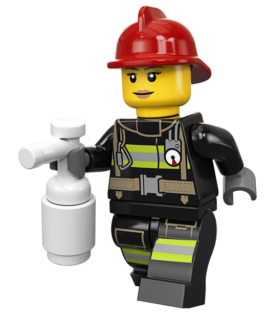 LEGO City firefighter