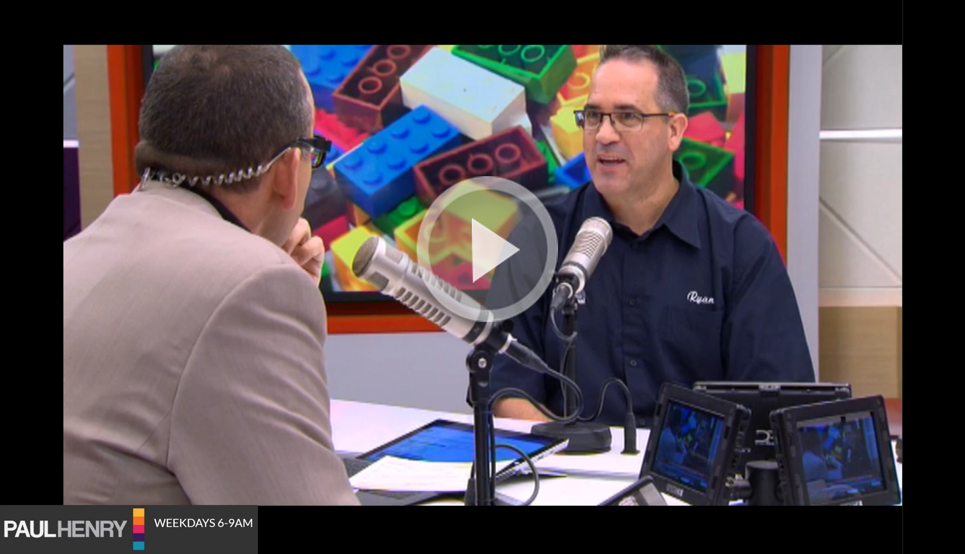 Ryan on the Paul Henry Show