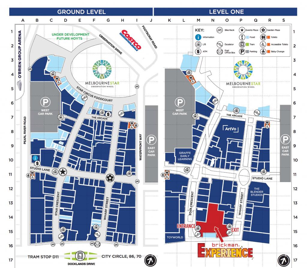 Harbour Town Melbourne Map