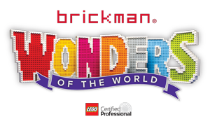 Brickman Wonders of the World logo