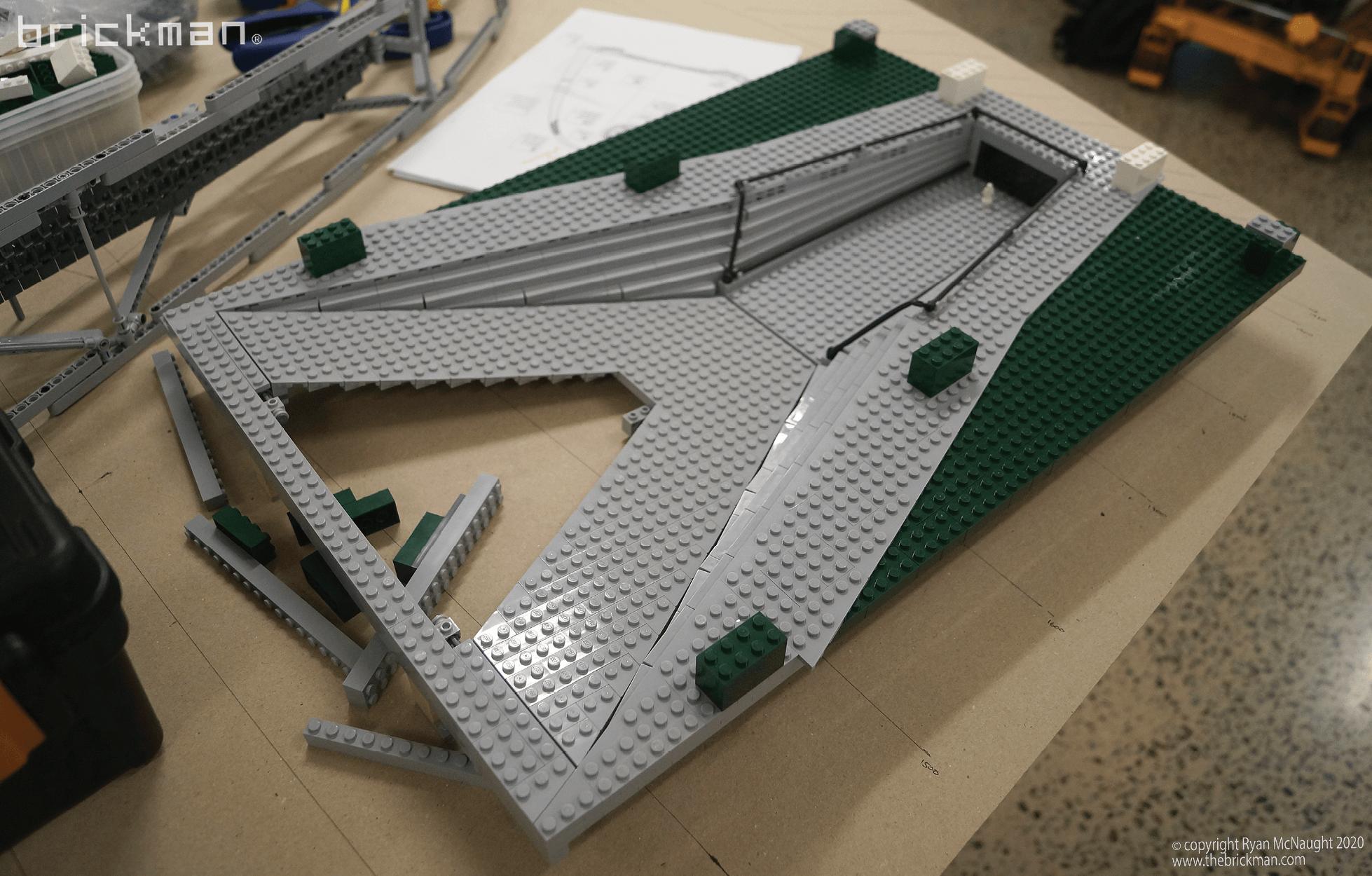 LEGO Technic Gateway Arch WIP 04