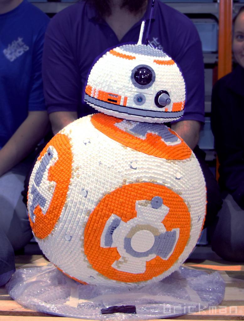 Duncan's BB-8 model