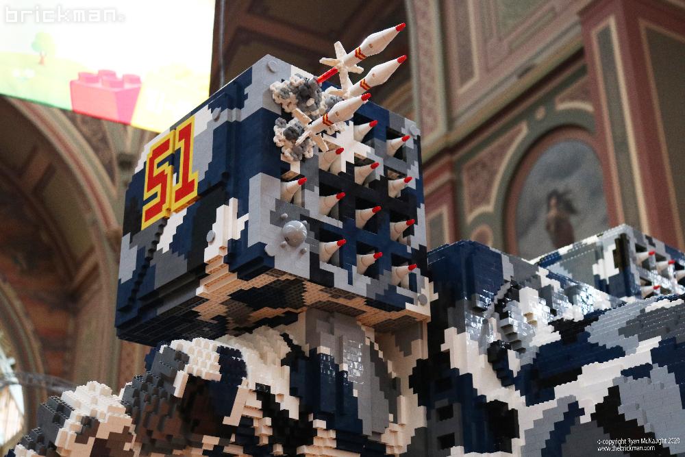 Brickvention 2020 LEGO TImberwolf missles