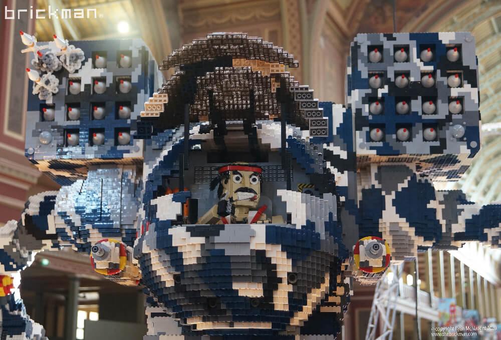 LEGO Brick Timberwolf at Brickvention cockpit