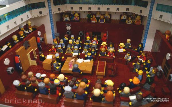 LEGO® brick Parliament House