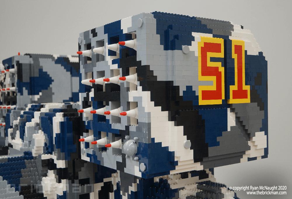 LEGO Battlemech Timberwolf Markings