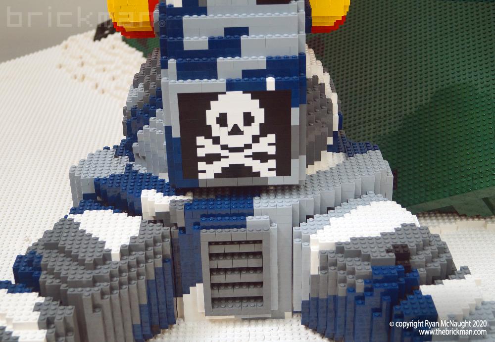 LEGO Battlemech Timberwolf Skull and Crossbones