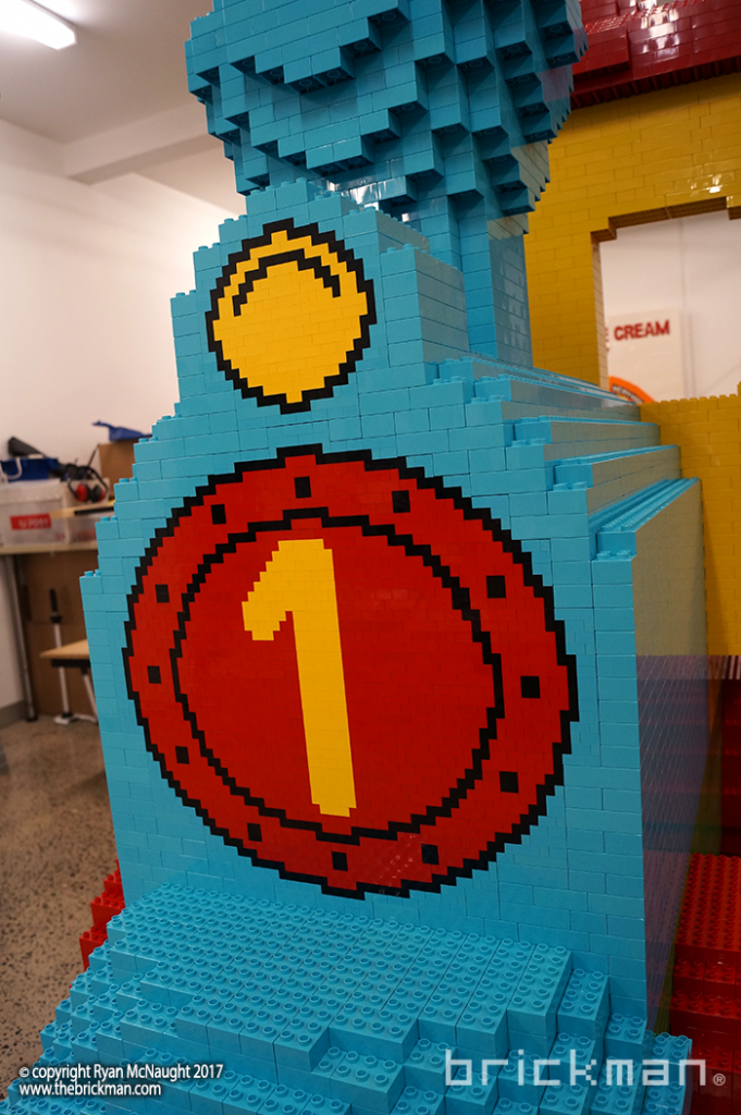 LEGO DUPLO train fromt detail