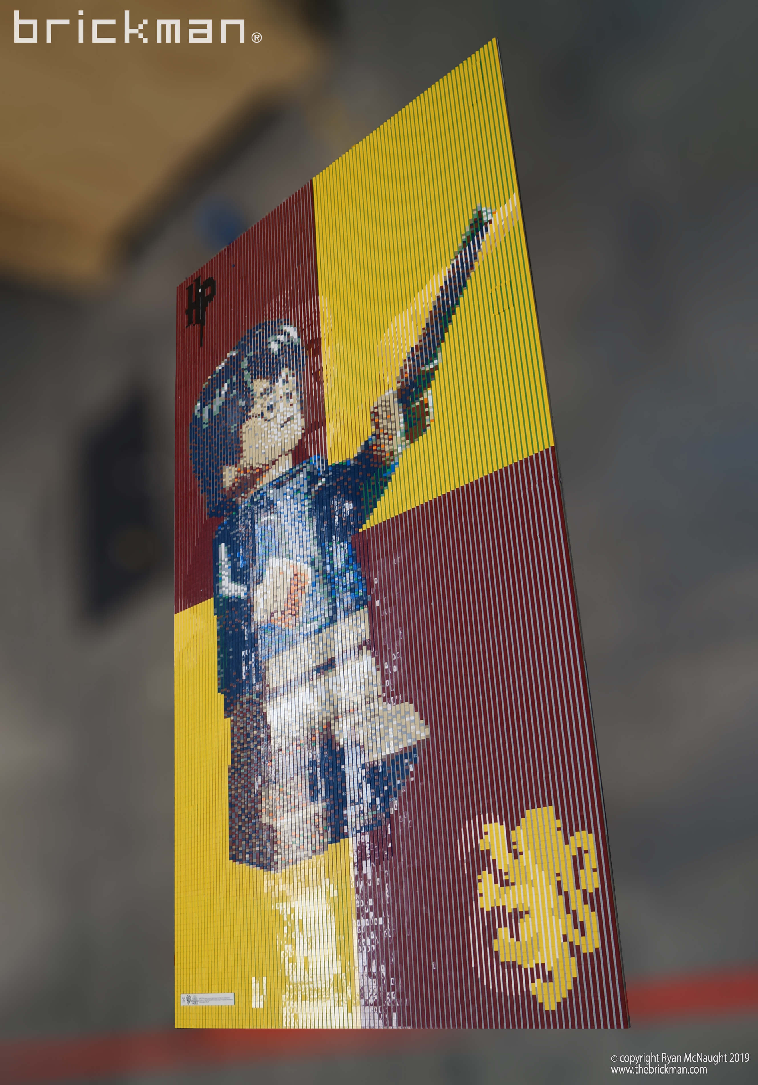 Harry Potter Lenticular LEGO Mosaic Harry Side