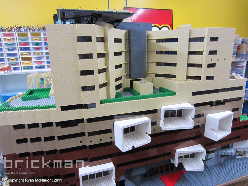 LEGO brick Brisbane Hospital 4