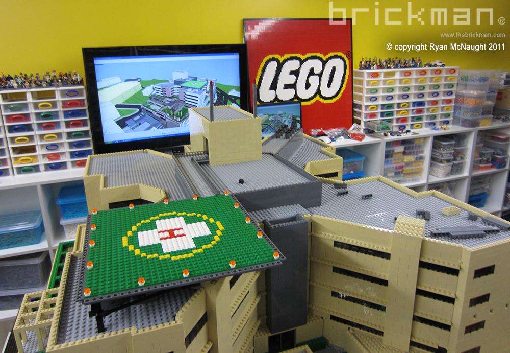 LEGO brick Brisbane Hospital 3