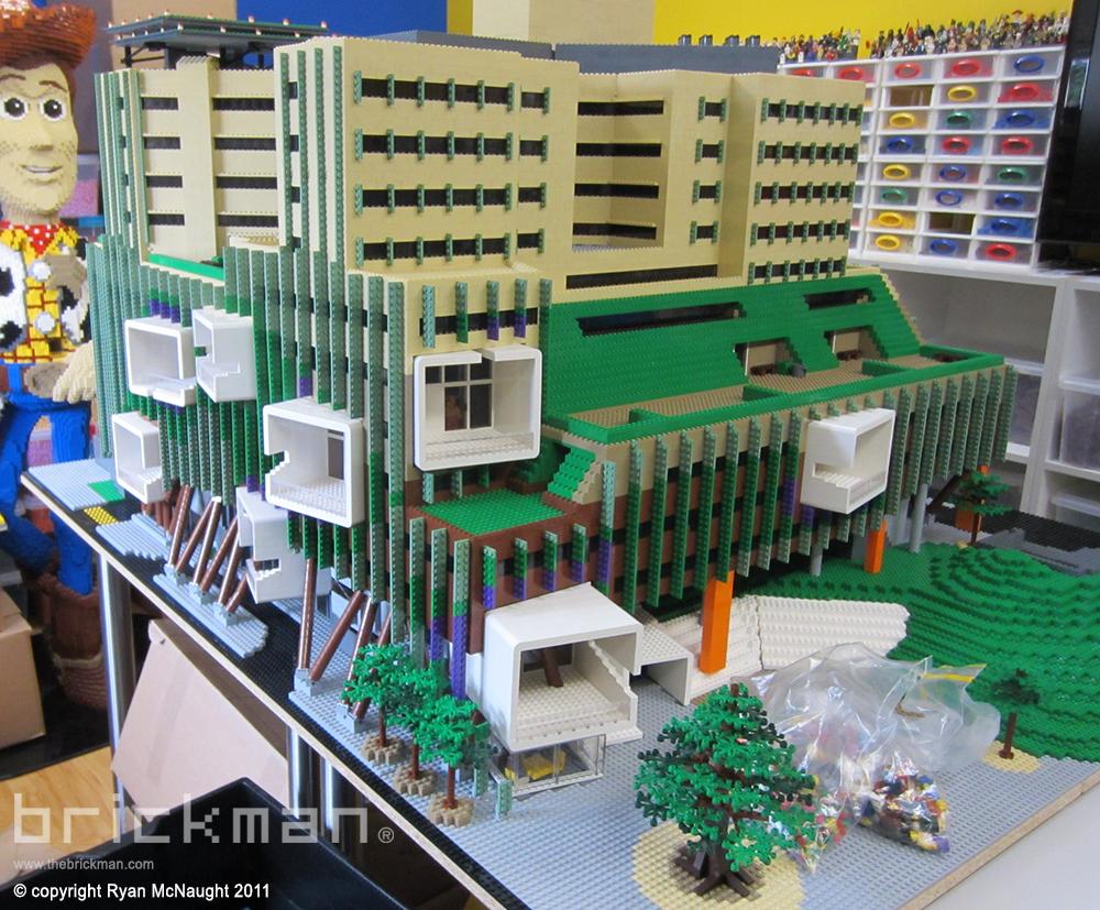 LEGO brick Brisbane Hospital 1