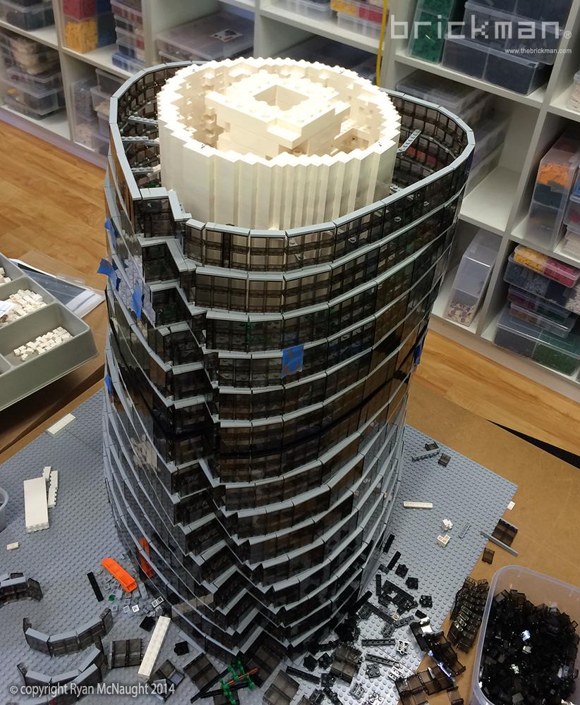 LEGO Shanghai Tower 02
