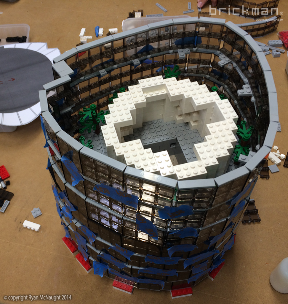 LEGO Shanghai Tower 01