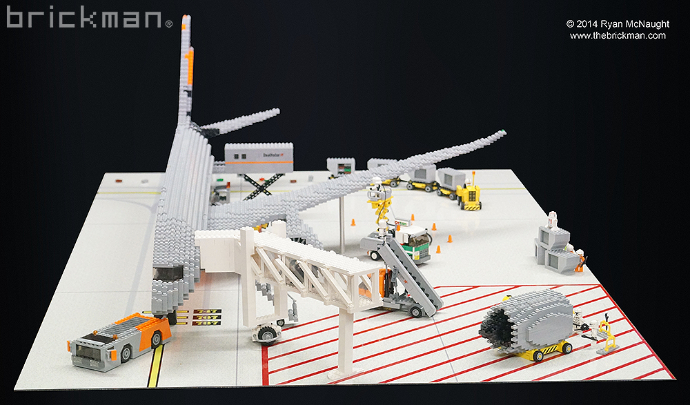 STar Wars Jetstar cut in half