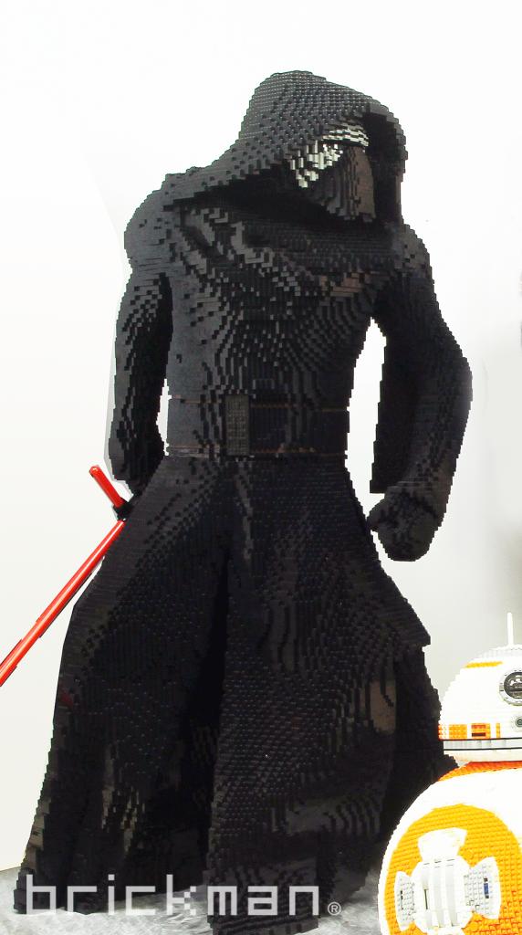 Enfield LEGO model shop's Kylo Ren