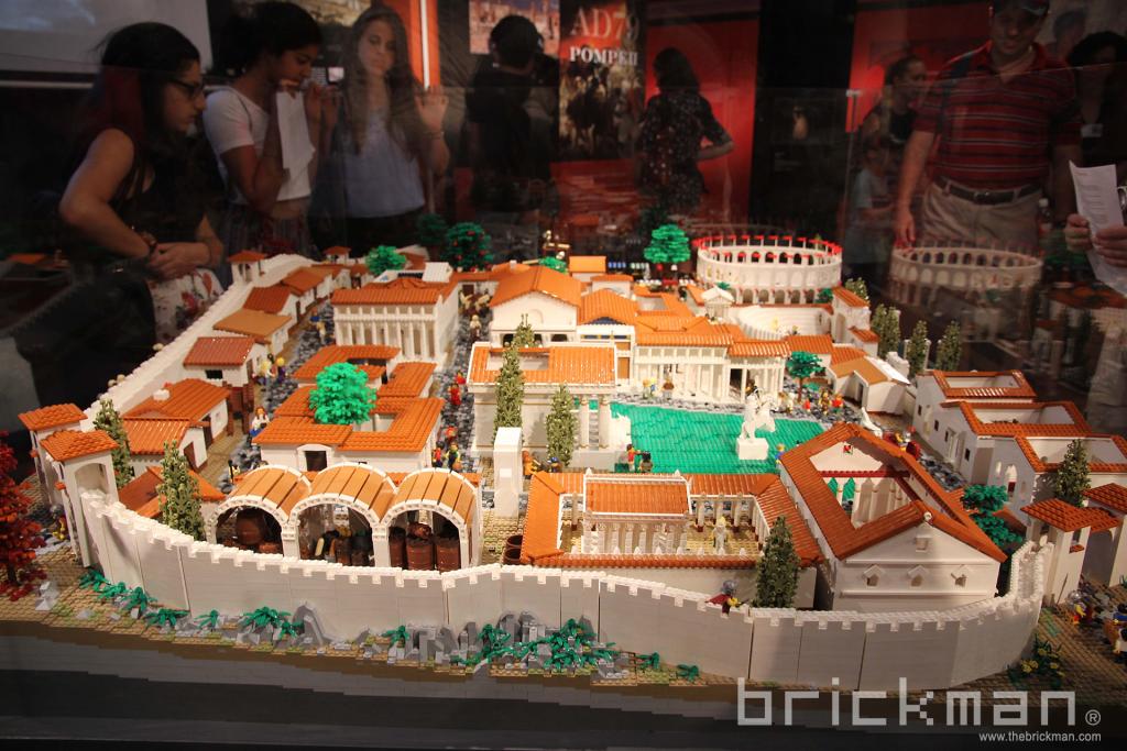 LEGO Pompeii at the Museum