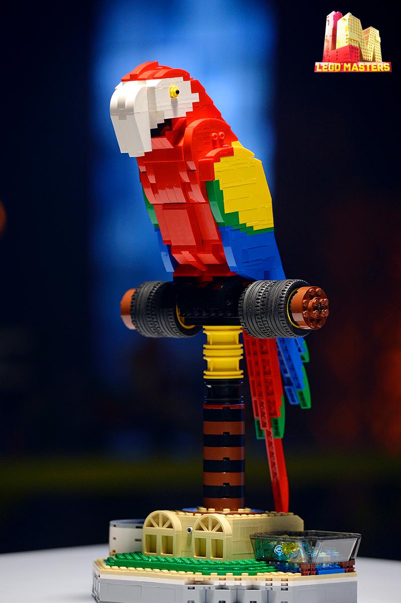 LEGO Masters Australia Parrot