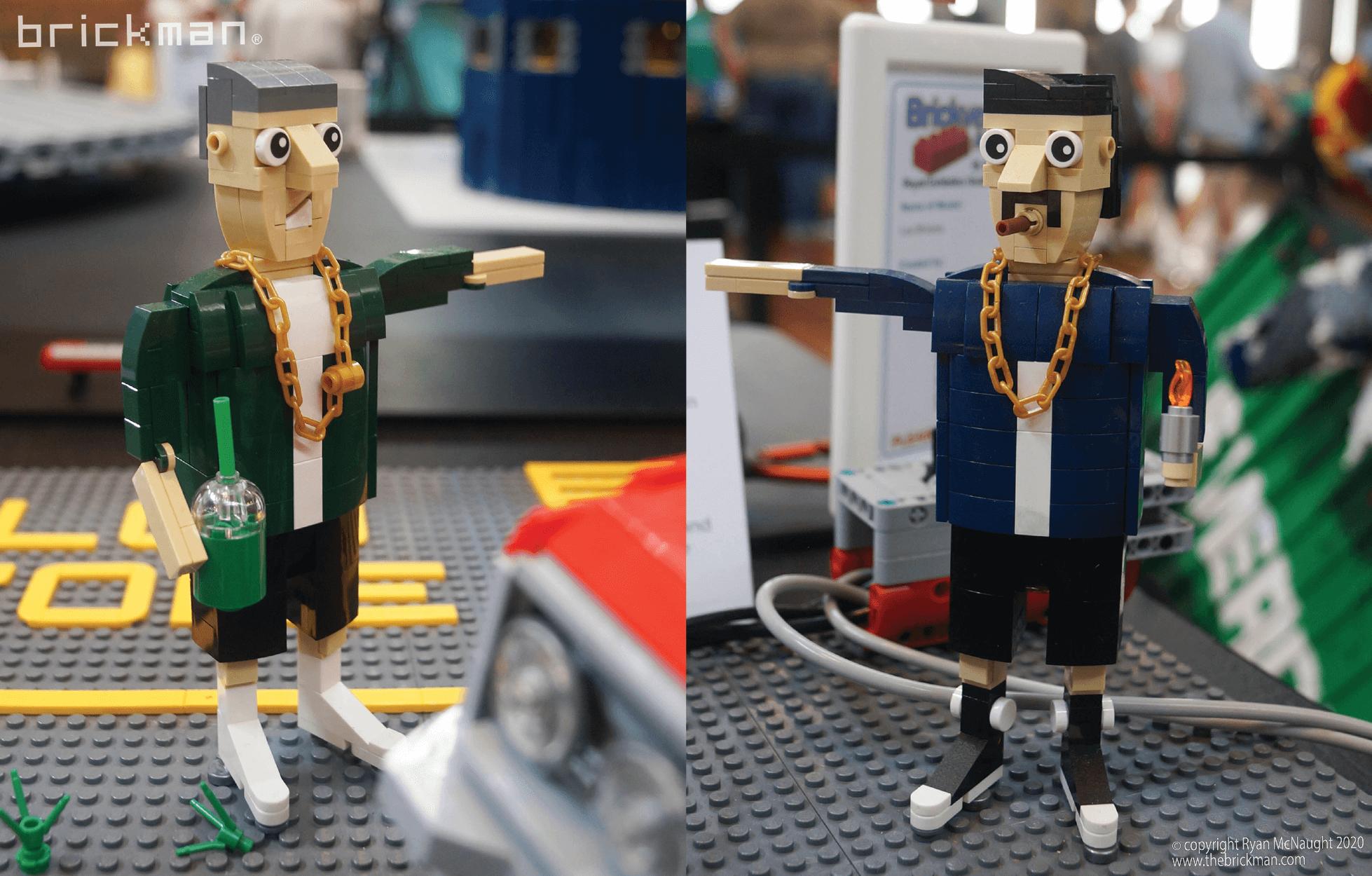 Los Brickos LEGO brick Lowrider Characters