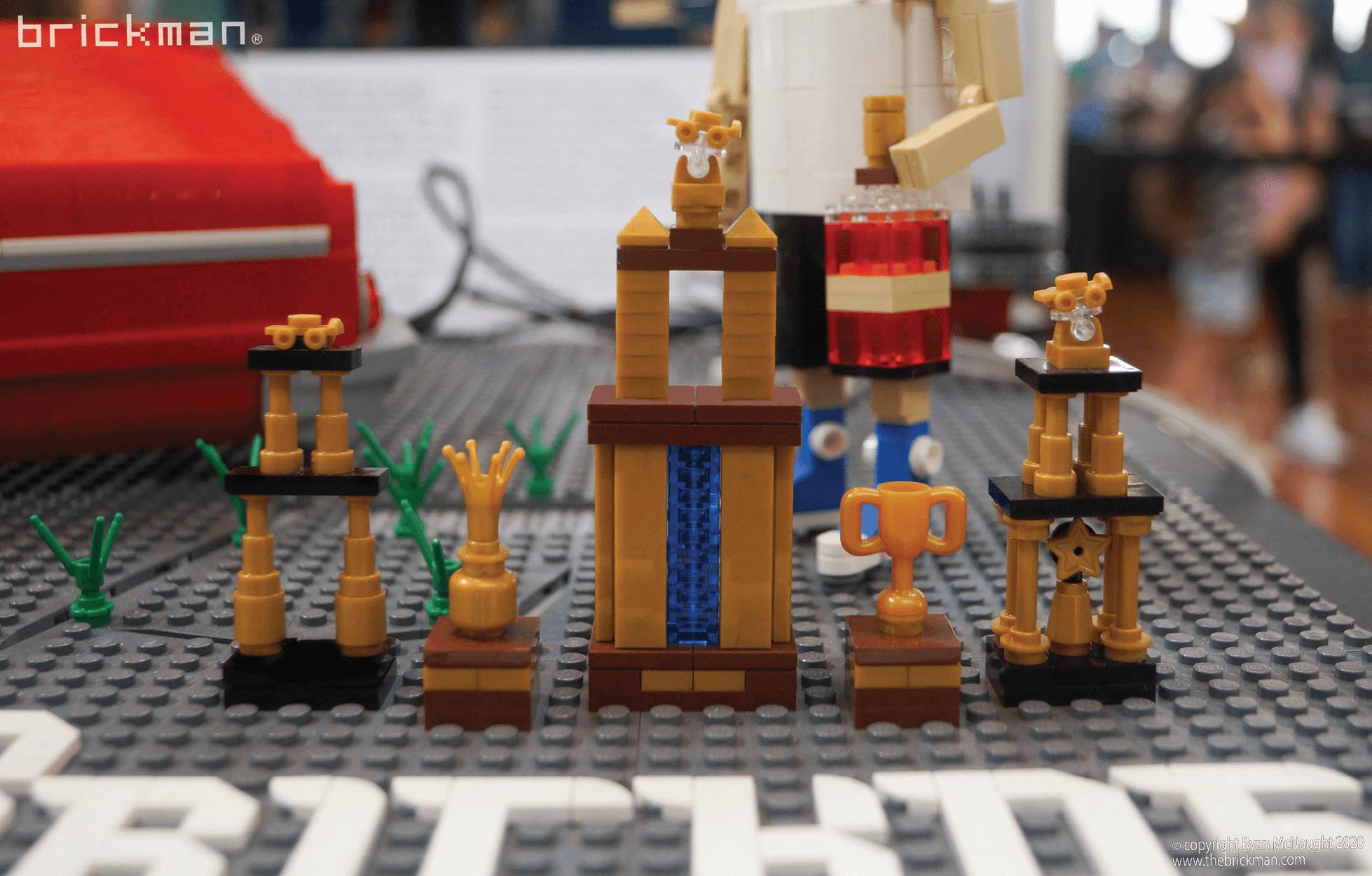Los Brickos LEGO brick Lowrider trophies