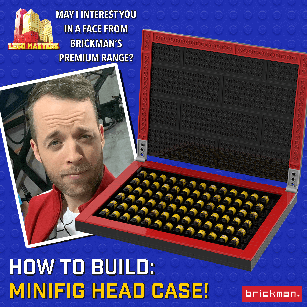 How to Build a Minifig Head case