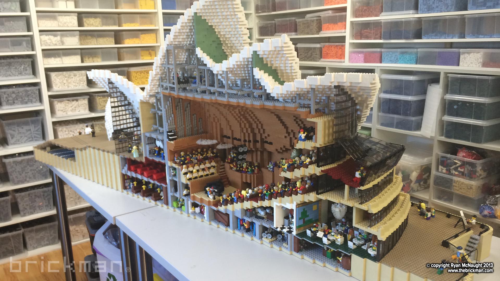 Throwback thursday lego sydney opera house the brickman for Lego house original