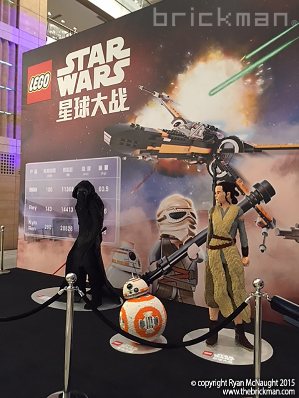 Star Wars The Force Awakens Premiere in Shanghai