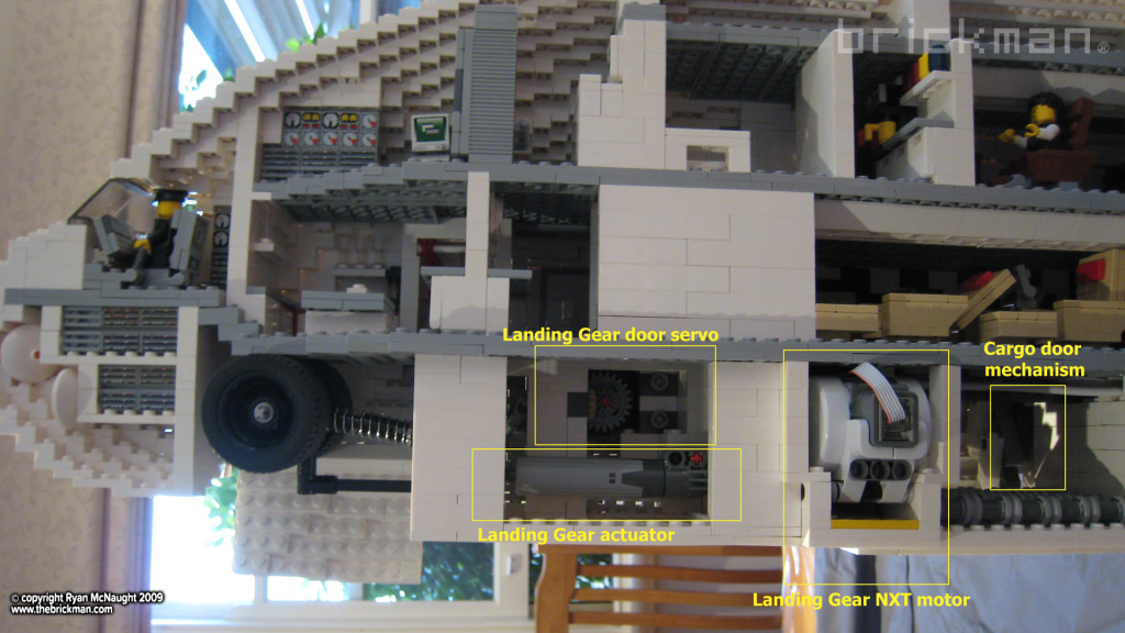 LEGO A380 NXT features1