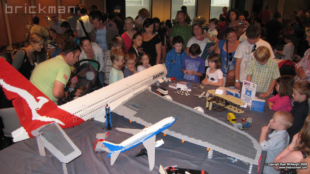 LEGO A380 Brickvention 2009
