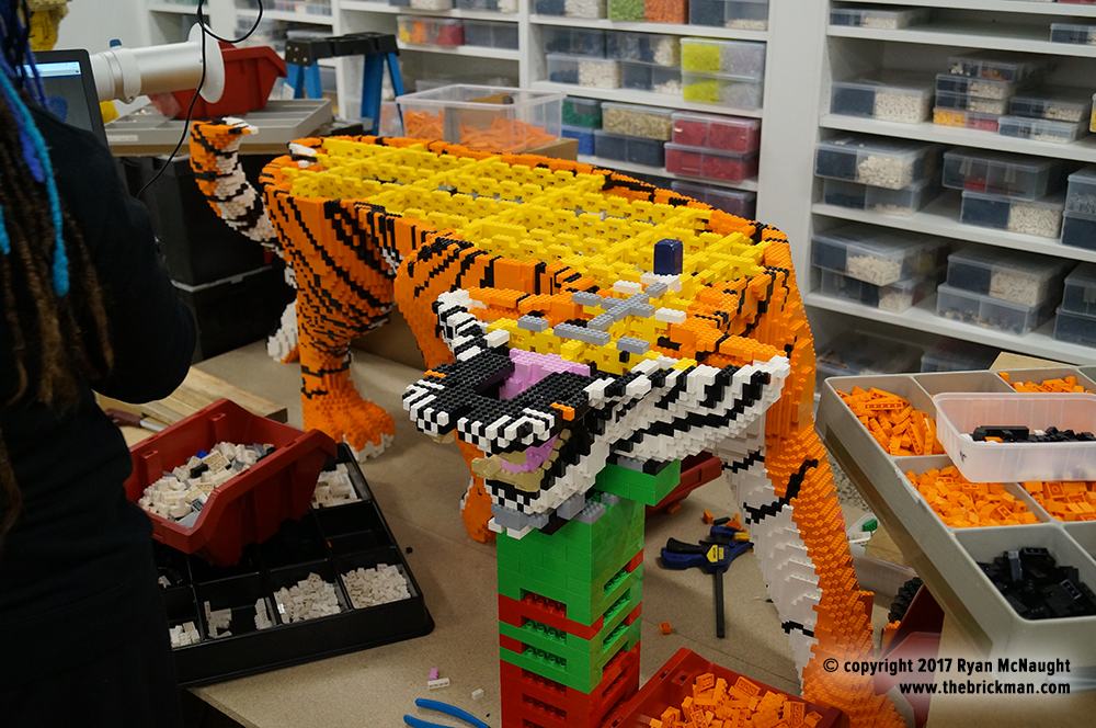 Dreamworld Tiger LEGO