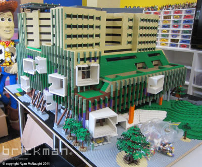 Throwback Thursday: LEGO® Brick Brisbane Hospital