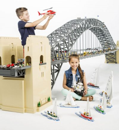 SYDNEY HARBOUR ICONS WITH LEGO® BRICKS