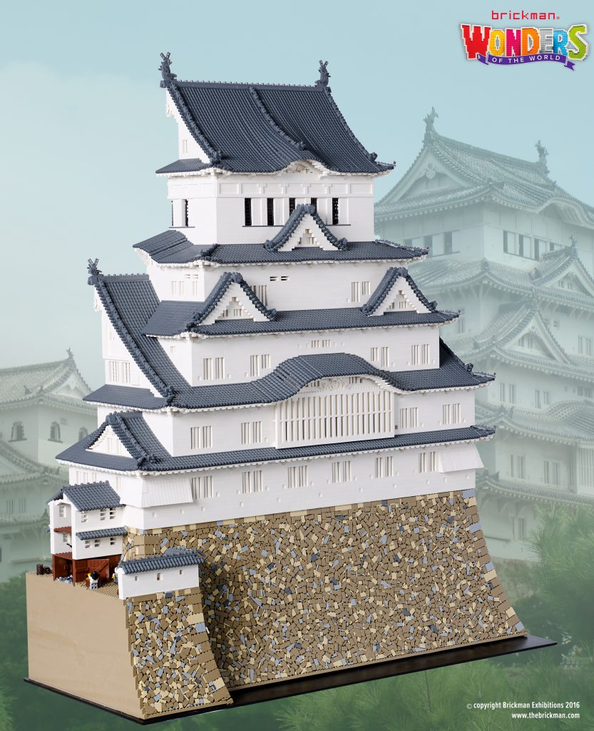 WOTW LEGO Himeji Castle