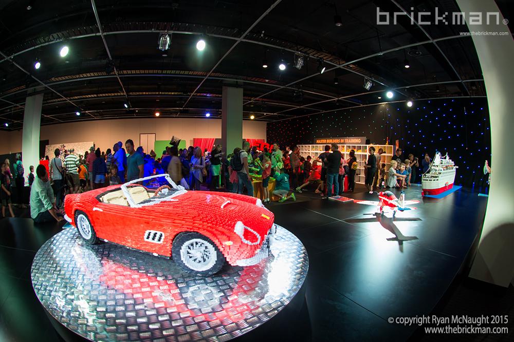LEGO Ferrari display 1