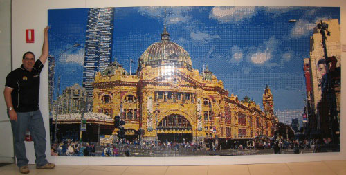 Federation Square Mosaic.