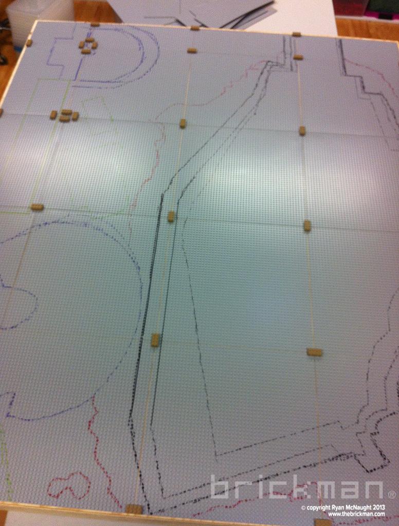 Plan for LEGO Acropolis