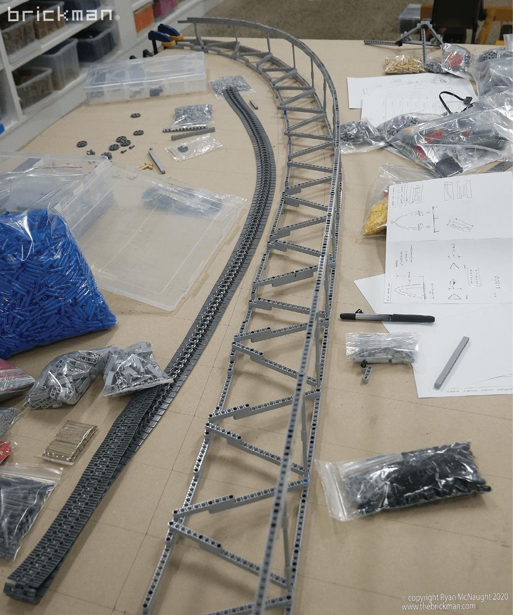 LEGO Technic Gateway Arch WIP 01
