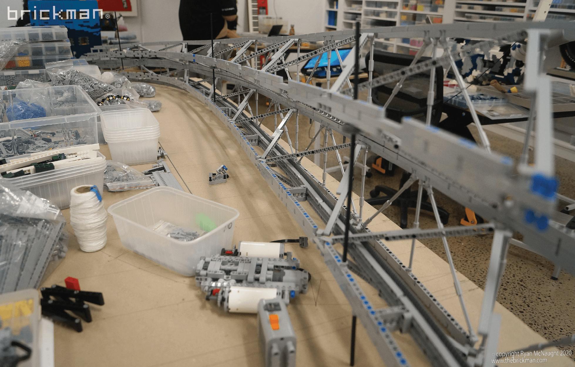 LEGO Technic Gateway Arch WIP 02