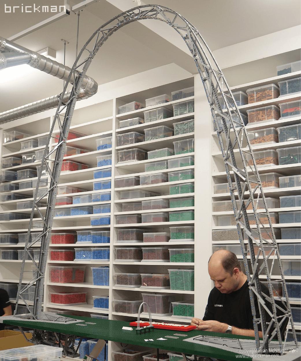 LEGO Technic Gateway Arch WIP03