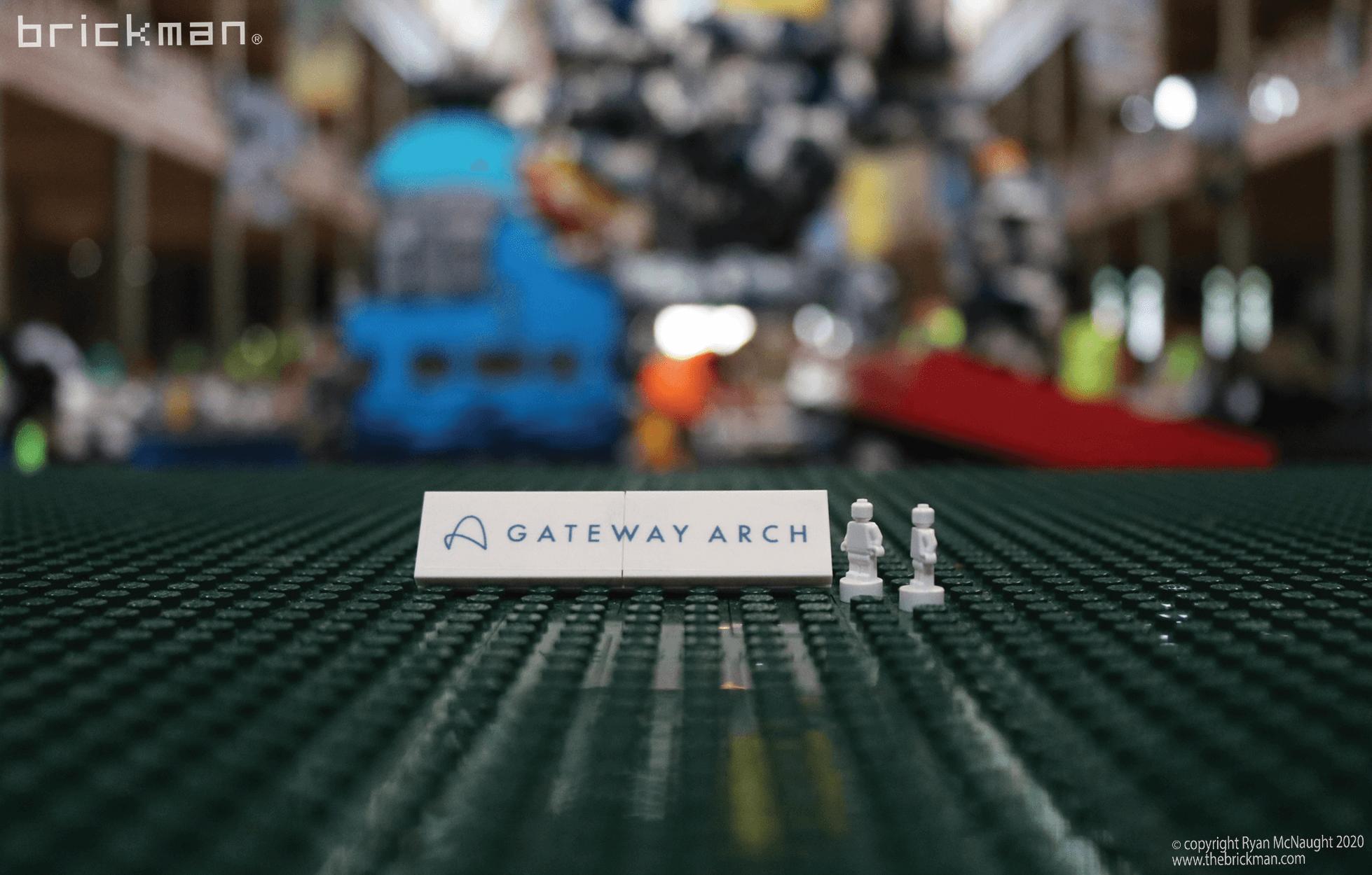 LEGO Technic Gateway Arch Sticker