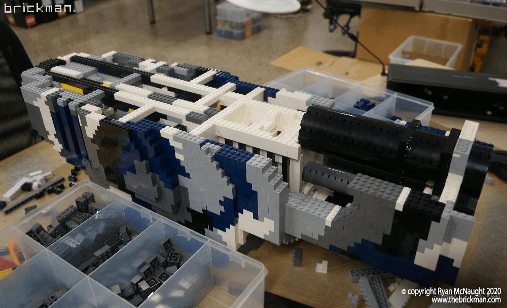LEGO Brick Timberwolf WIP 2