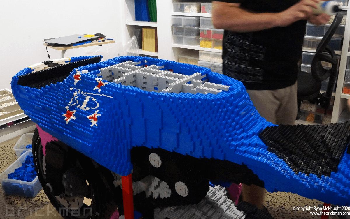 LEGO Britten Bike WIP 4
