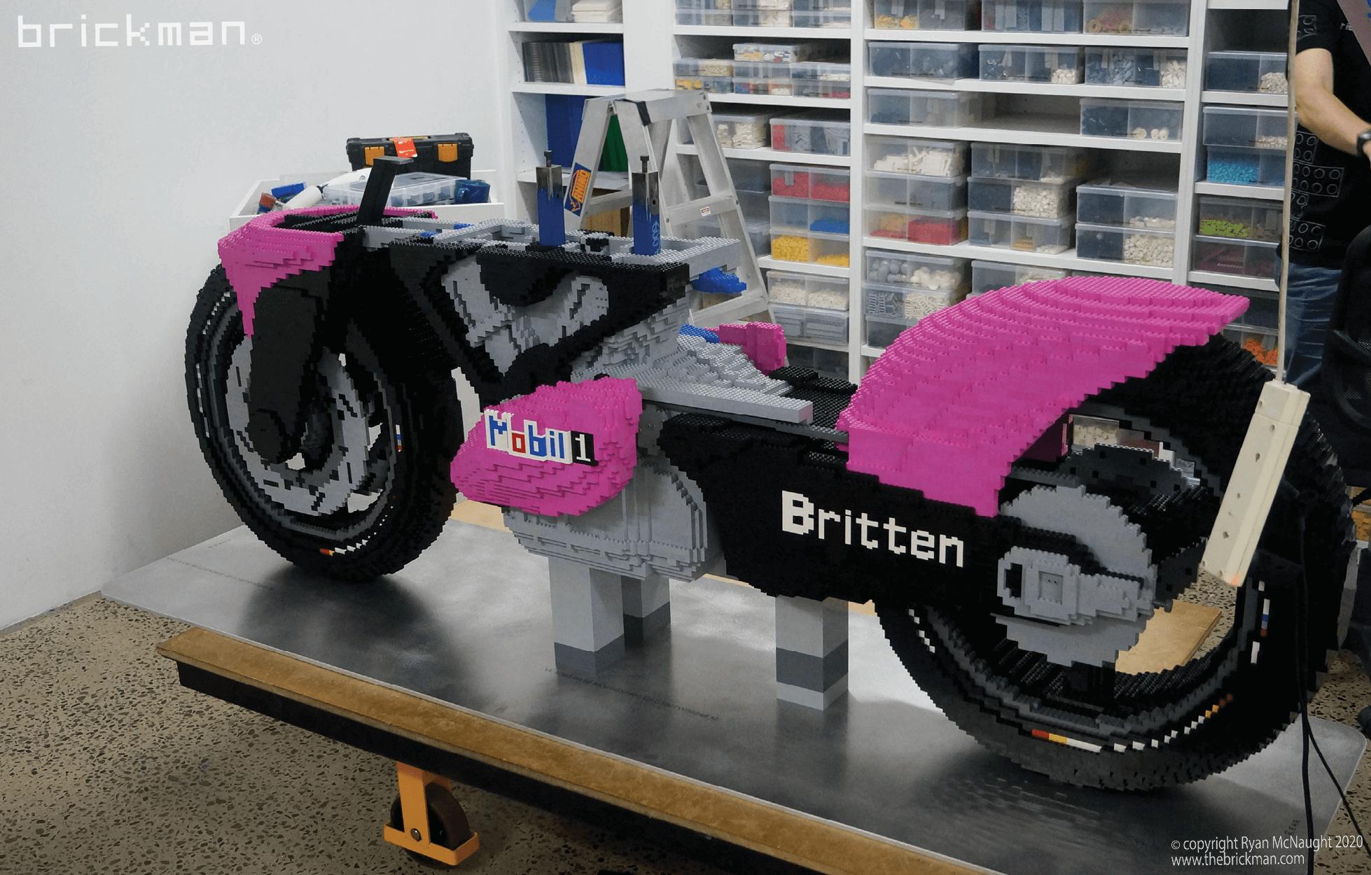 LEGO Britten Bike WIP 2