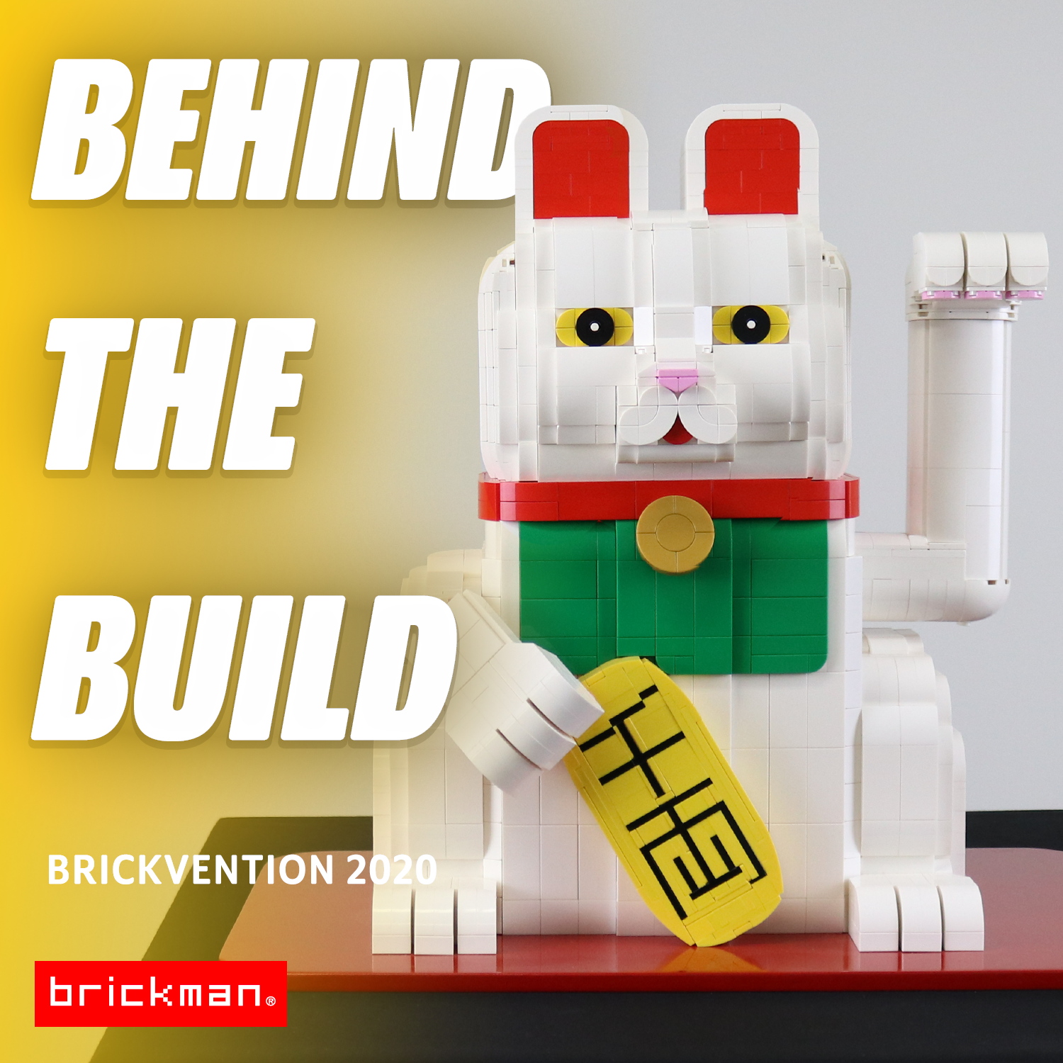 Brickvention 2020 Spotlight: LEGO® Beckoning Cat