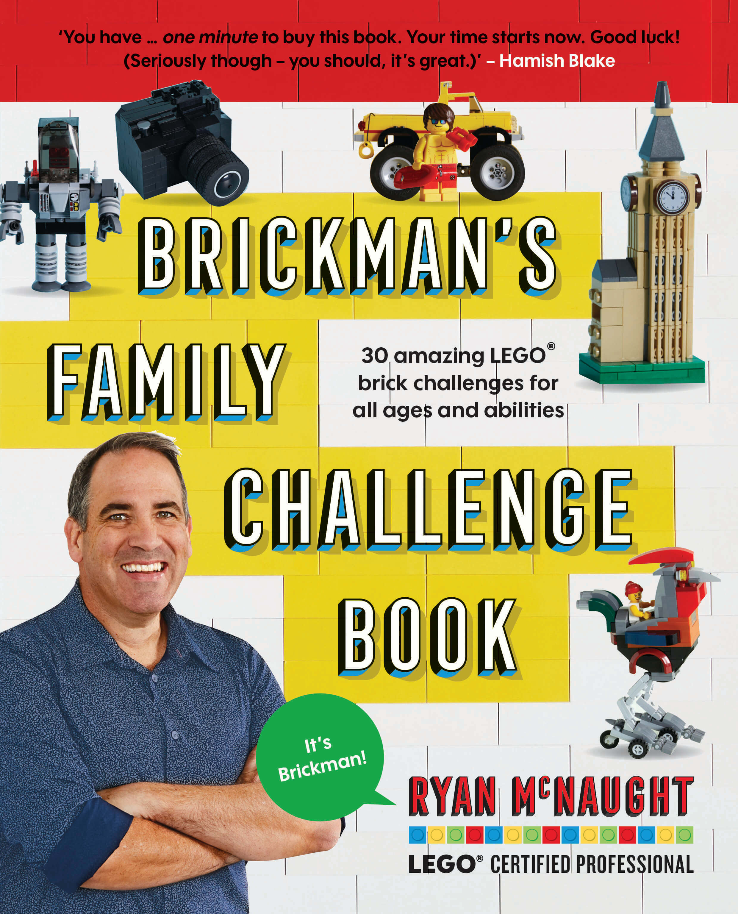 The Brickman Family Challenge Book final cover