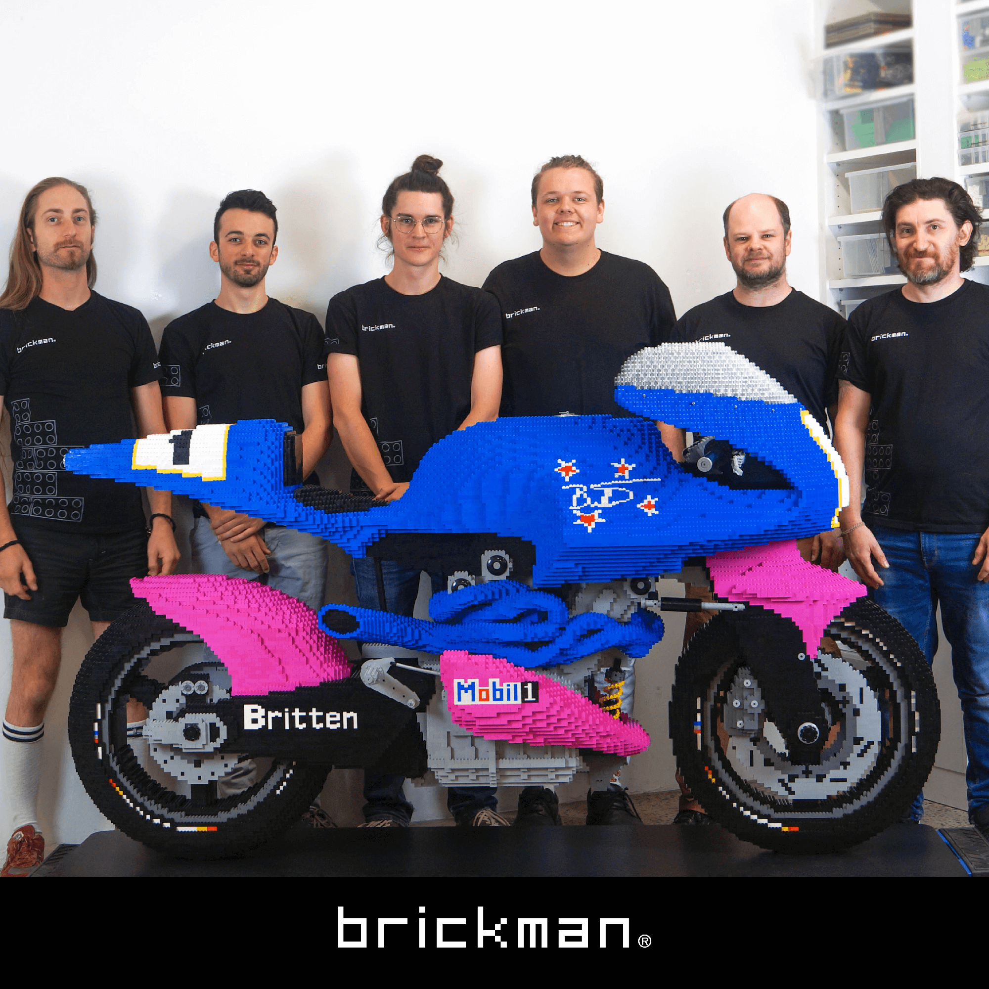 Behind the Build: LEGO® Britten Bike