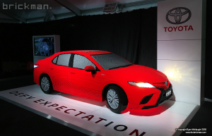 LEGO Camry On Display in Melbourne
