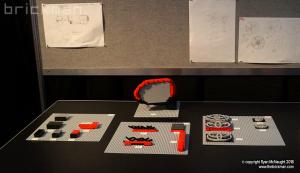 LEGO Camry prototypes