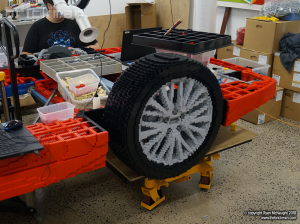 LEGO Camry WIP 2